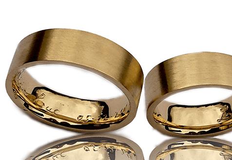 Goud trouwringen