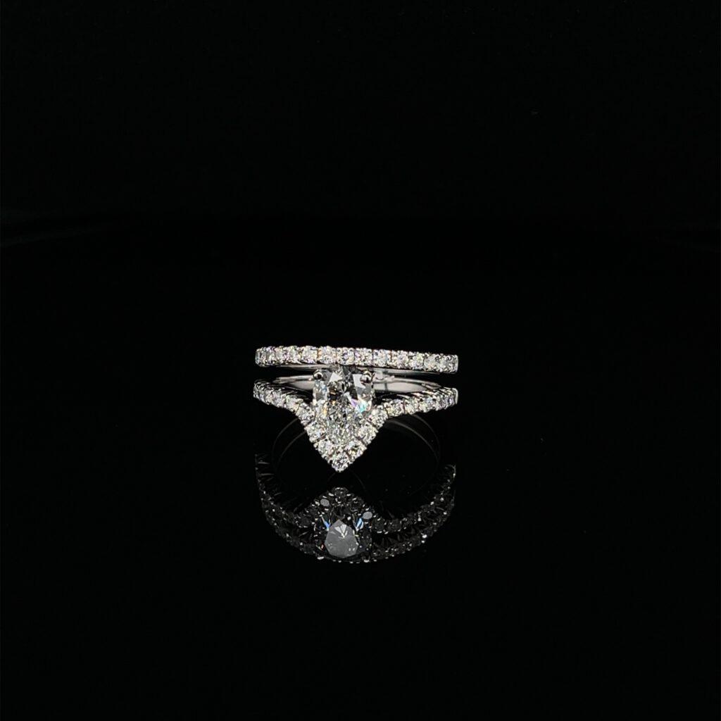 verloven verlovingsring goud diamanten