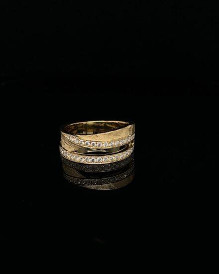 Ring geel goud